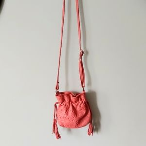 Leather Pouch Crossbody